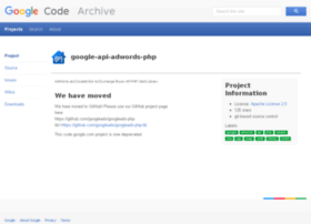 google-api-adwords-php.googlecode.com