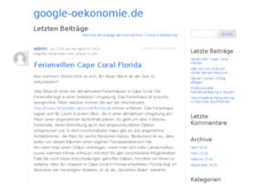 google-oekonomie.de