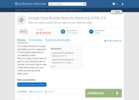 google-style-builder-beta-for-sketchup-6.software.informer.com