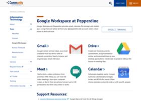 google.pepperdine.edu