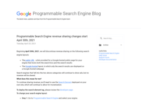 googlecustomsearch.blogspot.se