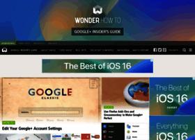 googleplus.wonderhowto.com