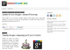 googleplusworld.nl
