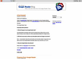 googlereader.blogspot.com