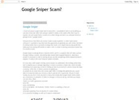 googlesniperscamornot.blogspot.com