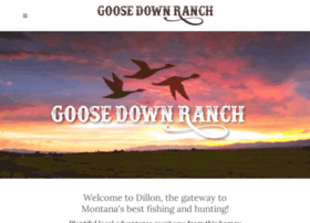 goosedownranch.com