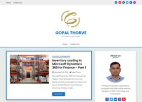 gopalthorve.com