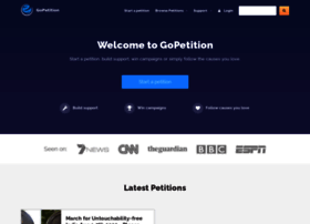 gopetition.com