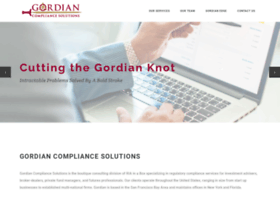 gordiancompliance.com