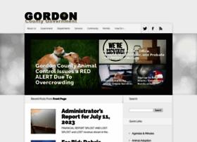 Gordoncounty.org