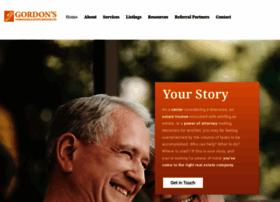 gordonsestateservices.com