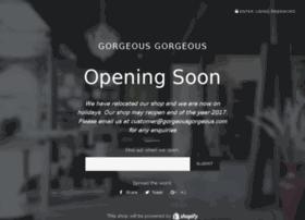 gorgeousgorgeous.com