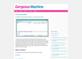 gorgeousmachine.org