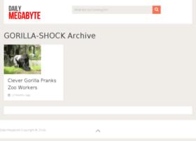 gorilla-shock.dailymegabyte.com