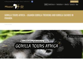 gorillatoursafrica.com