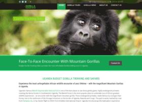 gorillatrackingsafari.com