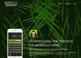 gorillaworkoutapp.com
