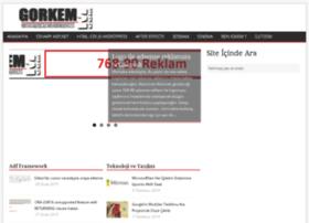 gorkemm.com