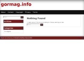 gormag.info