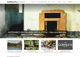gormleysartauctions.com
