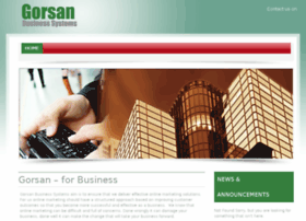 gorsanbusinesssystems.co.uk