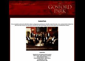 gosfordparkmovie.com