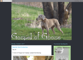 gospelofgoose.blogspot.com