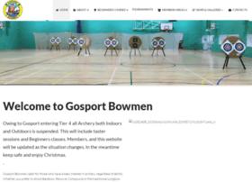 gosportbowmen.co.uk