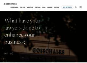 gosschalks.co.uk