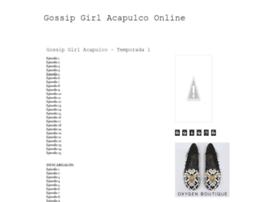 gossipgirlacapulcoonline.blogspot.mx