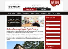 gothambrokerage.com