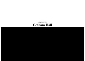 gothamhallevents.com