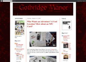 gothridgemanor.blogspot.com
