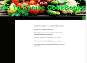 gotorecipecookbooks.com