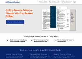 gotresumebuilder.com