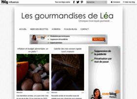 gourmandises2lea.com