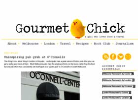 gourmet-chick.blogspot.com