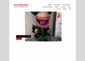 gourmetpapermache.com
