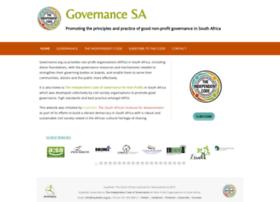 governance.org.za