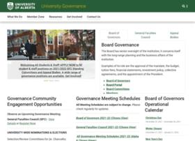 governance.ualberta.ca