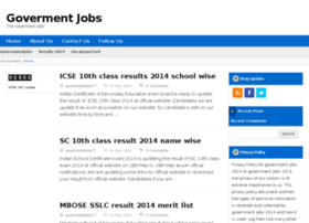 governmentjobs2014.in