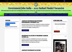 governmentjobsindia.net