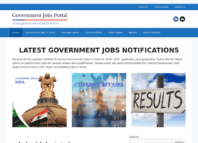 governmentjobsportal.in
