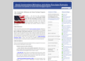 governmentrefinanceassistance.com