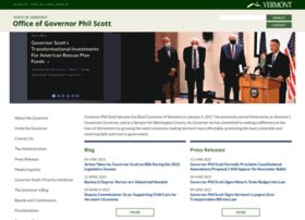 governor.vermont.gov