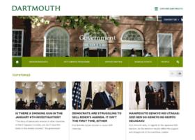 govt.dartmouth.edu
