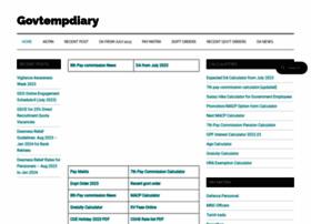 govtempdiary.com