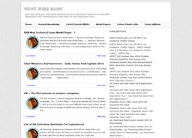 govtjobsbank.blogspot.in