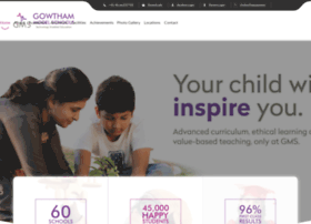 gowthammodelschools.com