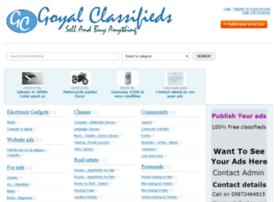 goyalclassifieds.com